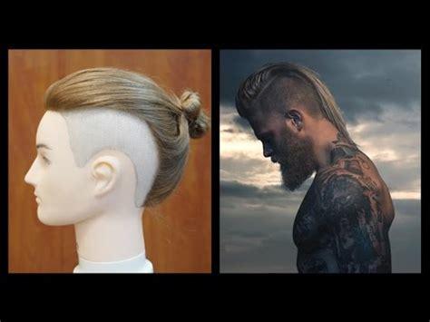 Josh Mario John Undercut Bun Man | man bun undercut josh mario john inspired haircut