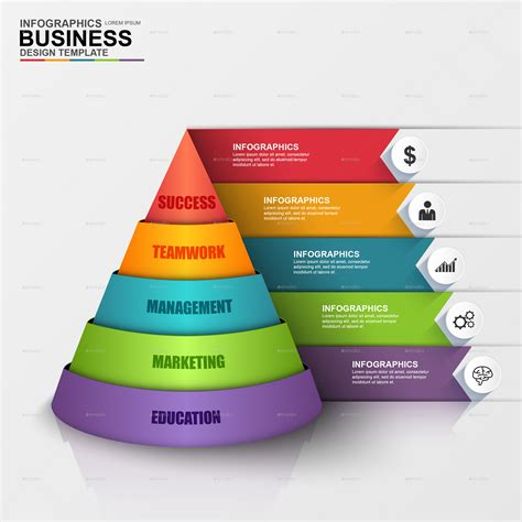 Total 3d Home Design Software by Abstract 3d Digital Business Pyramid Infographic By