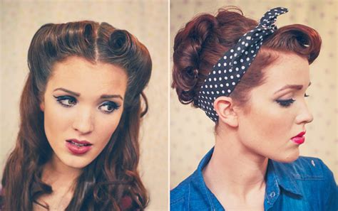32 vintage hairstyle tutorials you should not miss 50s hairstyles for long hair tutorial hairstyles