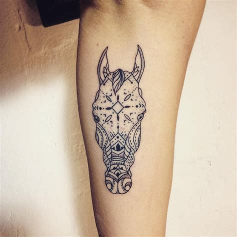 small horse related tattoos beautiful by dabytz tattoo inkspiration