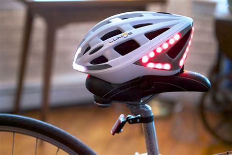 light up bike helmet lumos led smart bicycle helmet hiconsumption