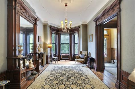 Victorian Style Home Interior by Prospect Park Place West Victorian Interior Woodwork Desig
