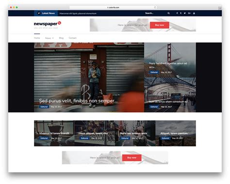 theme newspaper free 30 best free responsive magazine wordpress themes 2017