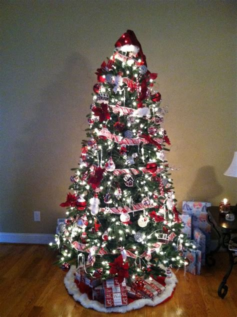 candy cane christmas tree christmas pinterest