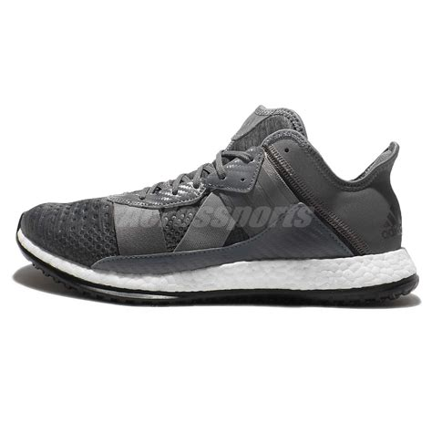 adidas boost zg trainer grey white cross shoes sneakers ba8595 ebay