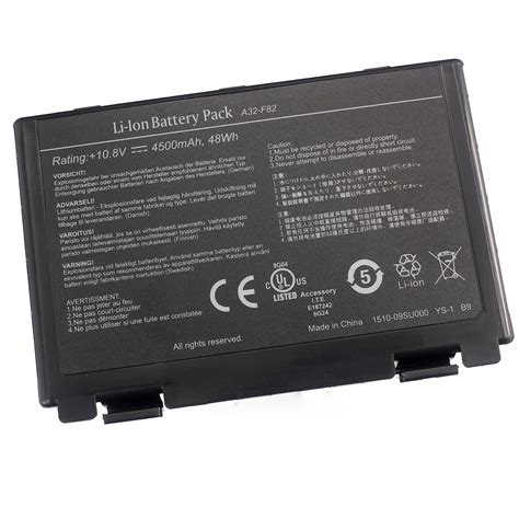 Battery Baterai Asus A32 F82 A32 F52 K40 K40i K40e K50 P81 X70 X65 F82 replacement asus a32 f52 a32 f82 l0690l6 k40 k40e k40ij k40in laptop battery