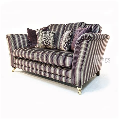 Striped Fabric Sofas Uk by Alstons In Purple Stripe Fabric