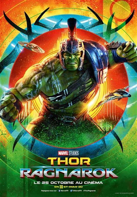 film marvel setelah thor ragnarok affiche du film thor ragnarok affiche 3 sur 14 allocin 233