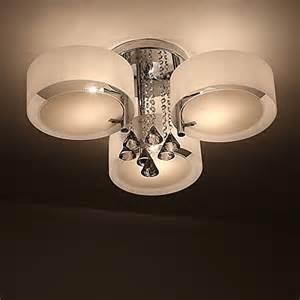 design deckenleuchten wohnzimmer natsen 174 led kristall deckenleuchte deckenle designer