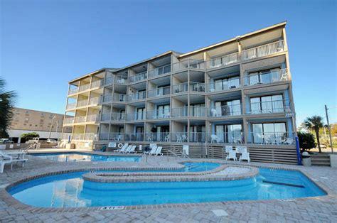 bluewater vacation rentals carolina bluewater resort villas myrtle 2nd row myrtle