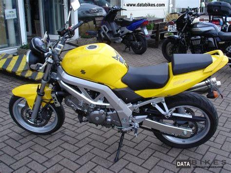 2004 Suzuki Motorcycle Models 2004 Suzuki Sv 650 N Extras German Model