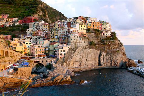 in italian cinque terre five cliffside villages on the italian