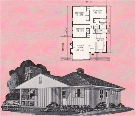 1 5 story cape cod house plans mid 20th century ranch house plans 2 house design and