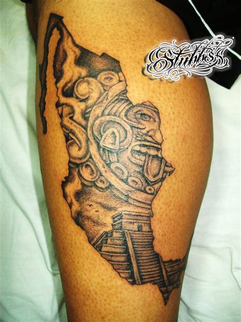 mexican tattoo art mexican style tattoos mexican aztec designs and