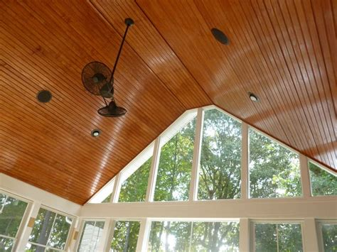 tongue and groove patio ceiling tongue and groove screen porch ceiling by archadeck of