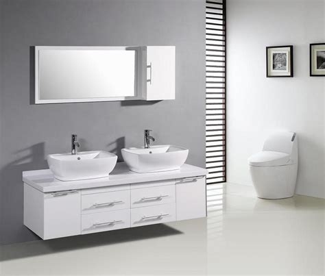 white modern bathroom vanities bathroom cabinet ideas for a master bathroom knowledgebase