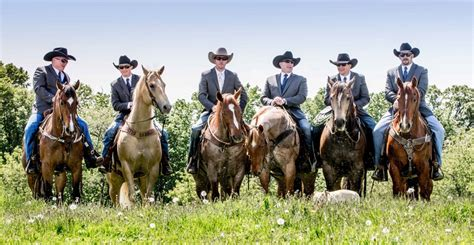 Wedding Attire For Horses grooms groomsmen photos groom groomsmen on horseback