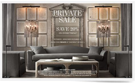 Restoration Hardware For Sale by Posh Purpose Sale At Restoration Hardware