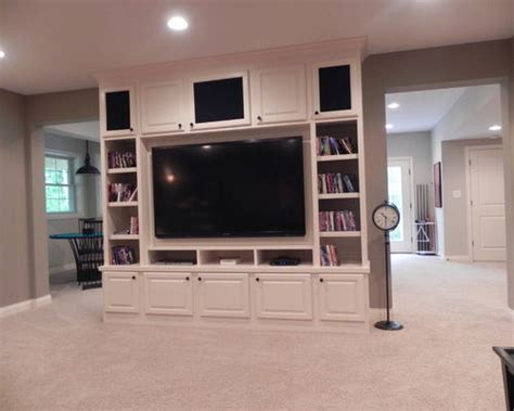 basement entertainment center home design ideas