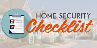 your home security checklist all island security