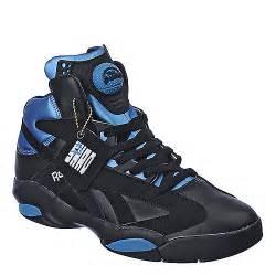 buy reebok mens shaq attaq black athletic basketball shoes