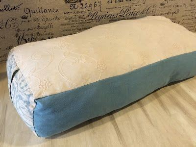 sewing pattern yoga bolster diy danielle how to sew a yoga bolster