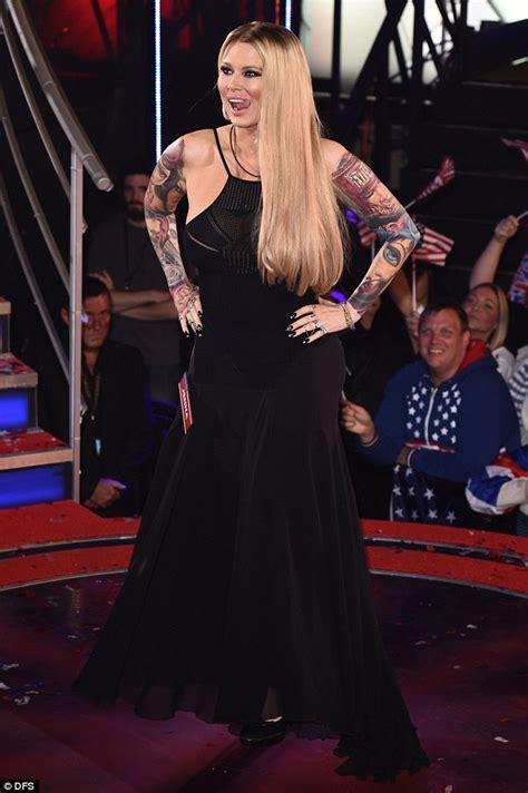 jenna jameson tattoo cbb s shows fuller figure as she enters