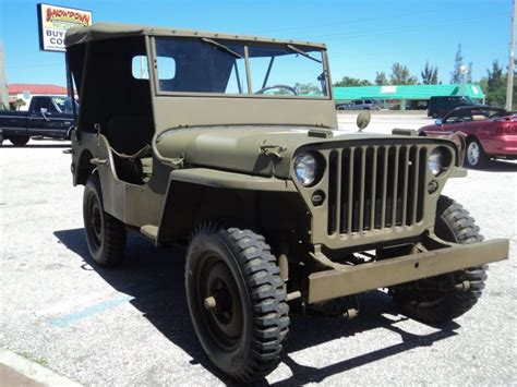 Ford Classic Jeep 1942 Ford Jeep Classic Vintage