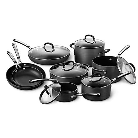 bed bath and beyond wok buy calphalon cookware sets from bed bath beyond