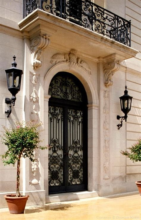 grand colonial front door lovable main door and windows architect maurice fatio designed french chateau home in