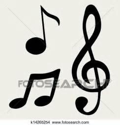 imagenes simbolos de musica clipart vetorial ilustra 231 227 o nota m 250 sica s 237 mbolos