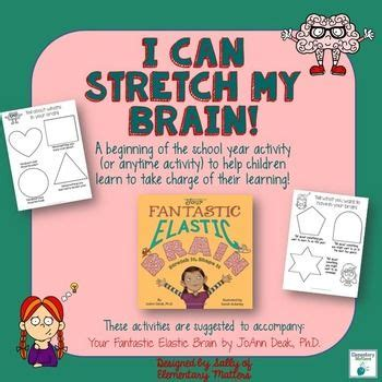 your fantastic elastic brain want your kiddos to learn to take charge of their learning this freebie is designed to go with