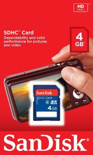 Sandisk Sdhc 4gb Sdsdb 004g B35 sandisk 4gb class 4 sdhc flash memory card sdsdb 004g b35