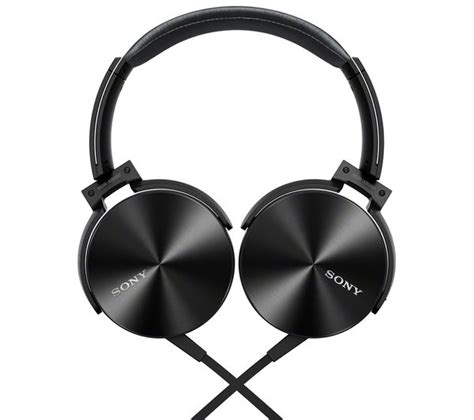 Headset Sony Mdr D9 buy sony mdr xb950ap headphones black free delivery currys