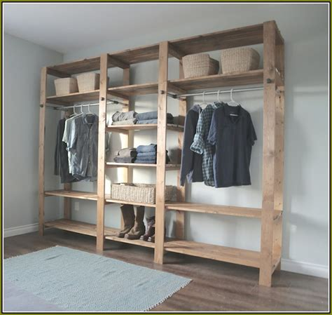 Diy Wood Closet Organizer by Diy Wood Closet Systems Home Design Ideas