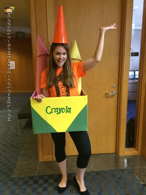 costume ideas diy projects craft ideas how to cool out of the box crayon costume idea crayons costumes and costumes