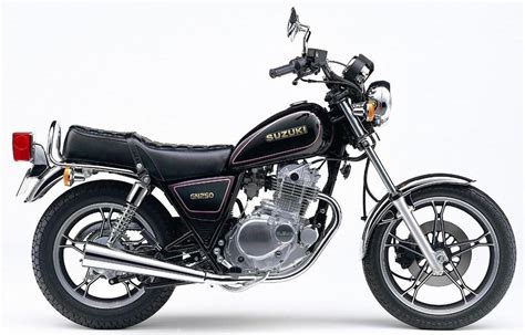 Suzuki Gn250 Workshop Manual Suzuki Gn250 1982 1983 Factory Service Shop Manual