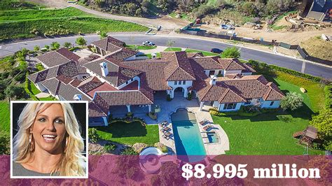 britney spears house britney spears prices one of her thousand oaks homes at 8 995 million la times