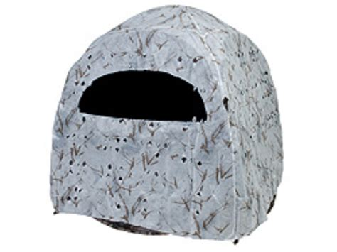 ameristep dog house blind ameristep snow cover fits doghouse blinds polyester ameristep snow