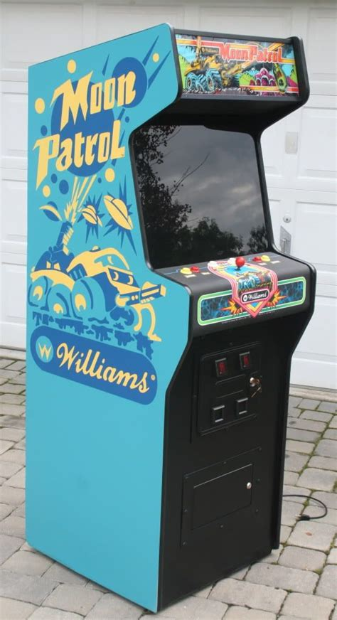 Moon Patrol Cabinet by Best 25 Arcade Machine Ideas On