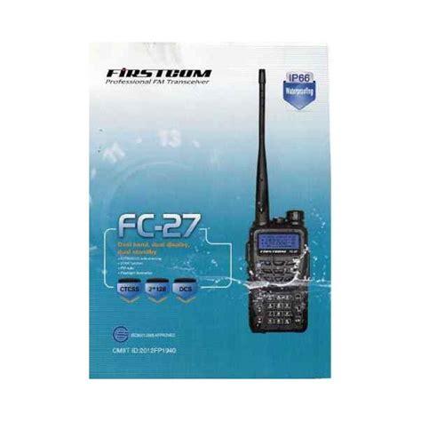 Ht Handy Talky Firstcom Fc 27 Waterfroof firstcom fc 27 dual band waterproof