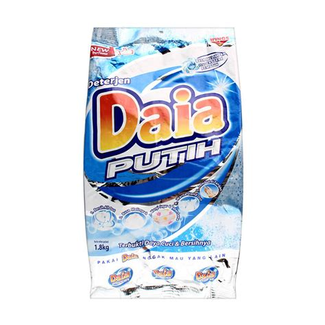 Detergen Cycles Powder 1 Kg jual daia powder detergen bag putih 1 8 kg jd id