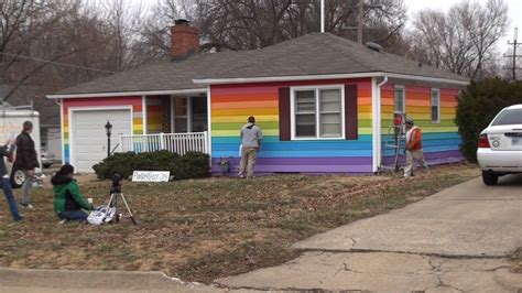 the house across the street man buys house across the street from westboro baptist church paints it rainbow fox40