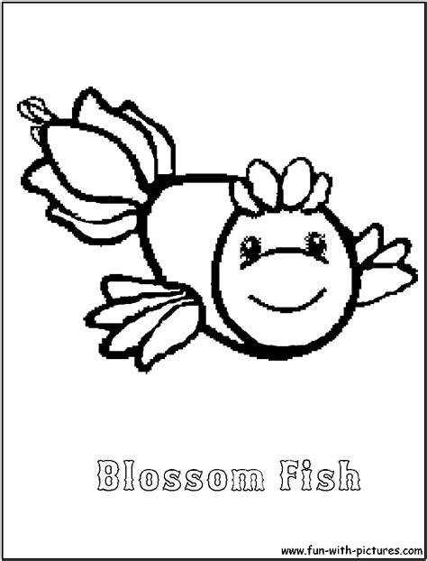 Webkinz Blossomfish Coloring Page Webkinz Coloring Pages