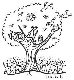 Parable Of The Mustard Seed Coloring Pages sketch template