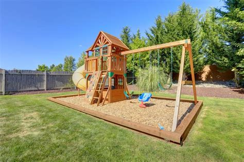 is swinging a good idea backyard playground ideas www imgkid com the image kid
