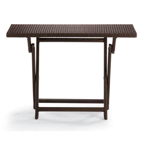 Folding Bar Height Table Cafe Counter Height Folding Table Frontgate