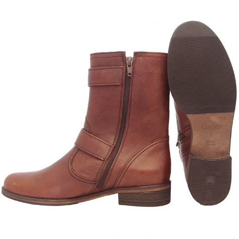 footwear womens boots gabor boots womens mid calf boots in brown mozimo