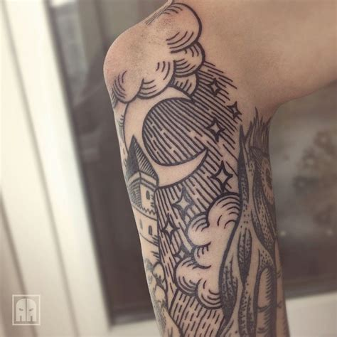 traditional cloud tattoo aleksandrageev appreciation