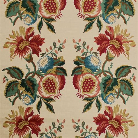 Popular Home Decor Stores scalamandre fabric pomegranate jewel 6486a 004 traditional